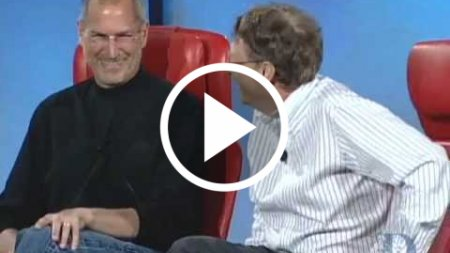 Steve Jobs and Bill Gates at D5 Conference