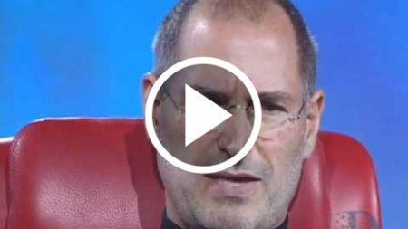 Steve Jobs and Bill Gates Together in 2007 at D5